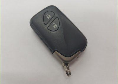 מפתח שלט 2 כפתורים לקסוס